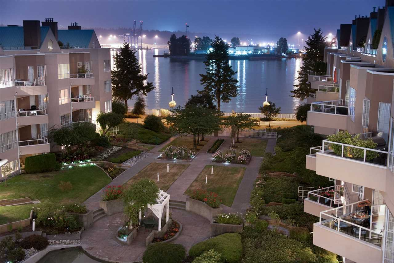 Main Photo: 113 1150 QUAYSIDE DRIVE in New Westminster: Quay Condo for sale : MLS®# R2215813