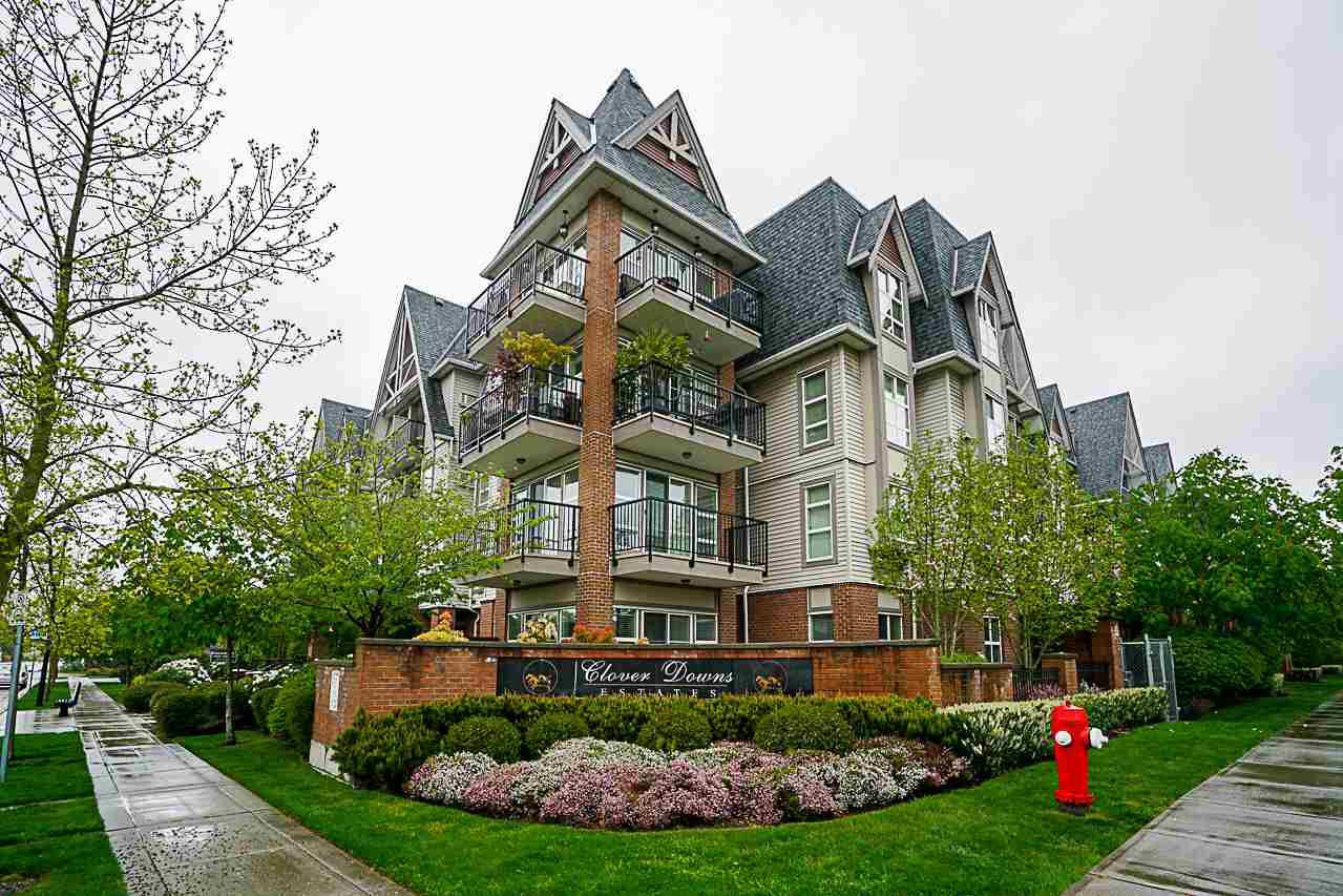 "Main Photo: 403 17769 57 Avenue in Surrey: Cloverdale BC Condo for sale in ""Clover Down Estates"" (Cloverdale)  : MLS®# R2261769"