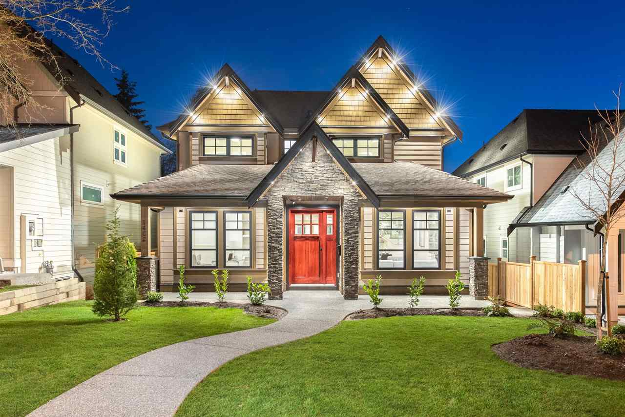 Main Photo: 1402 HAVERSLEY Avenue in Coquitlam: Central Coquitlam House for sale : MLS®# R2336922