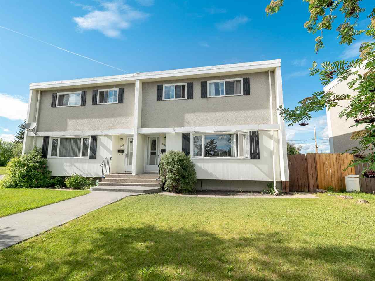 Main Photo: 10116 134 Avenue in Edmonton: Zone 01 House Half Duplex for sale : MLS®# E4161534