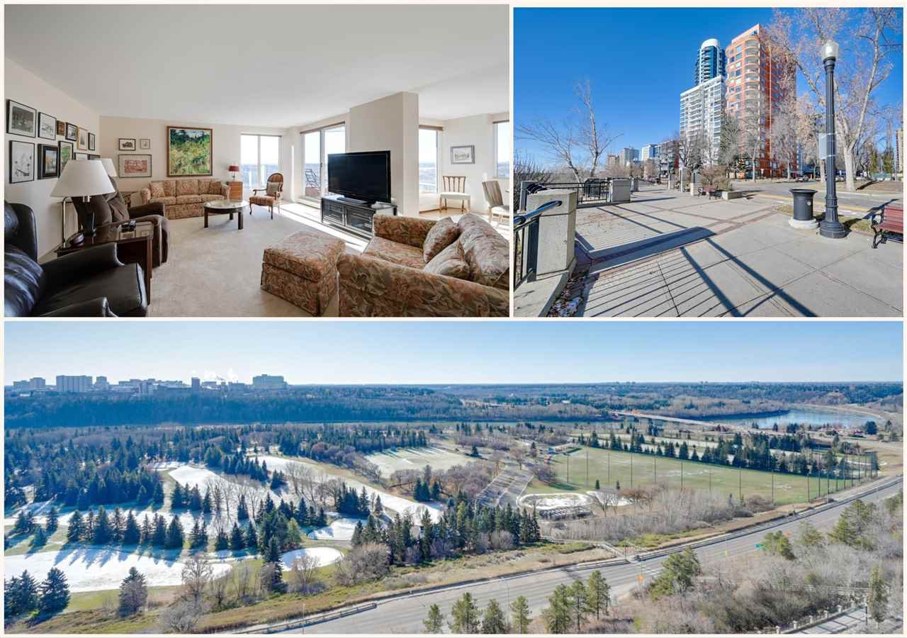 Main Photo: 1503 10010 119 Street in Edmonton: Zone 12 Condo for sale : MLS®# E4178776