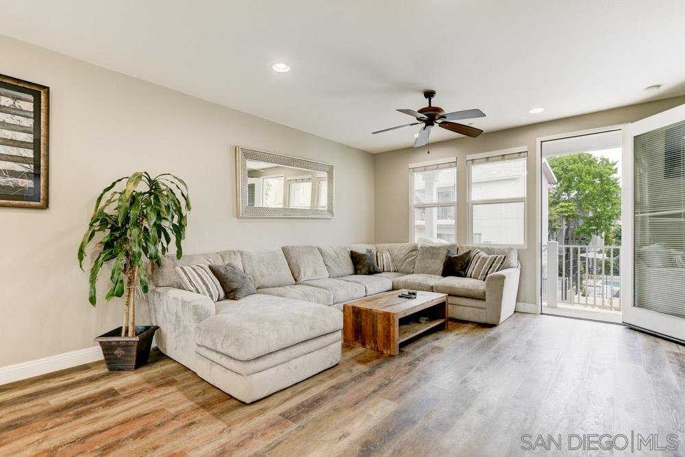 Main Photo: CLAIREMONT Townhome for sale : 3 bedrooms : 5055 Coral Sand Terrace in San Diego