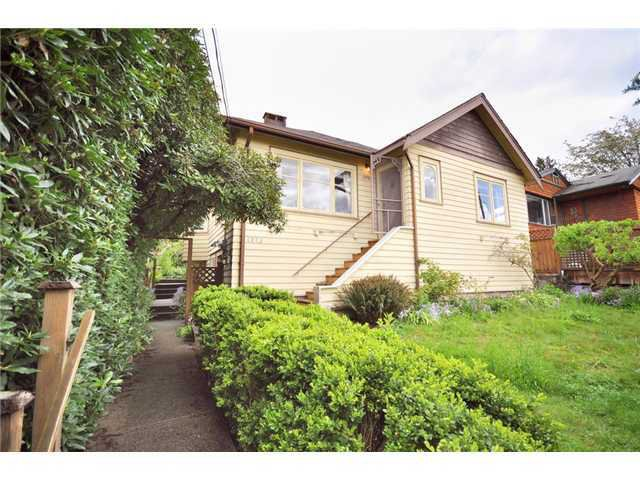 Main Photo: 1275 ESQUIMALT AVE in West Vancouver: Ambleside House for sale : MLS®# V884101