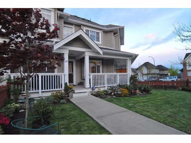 """Main Photo: 66 6852 193RD Street in Surrey: Clayton Townhouse for sale in """"Indigo"""" (Cloverdale)  : MLS®# F1431505"""