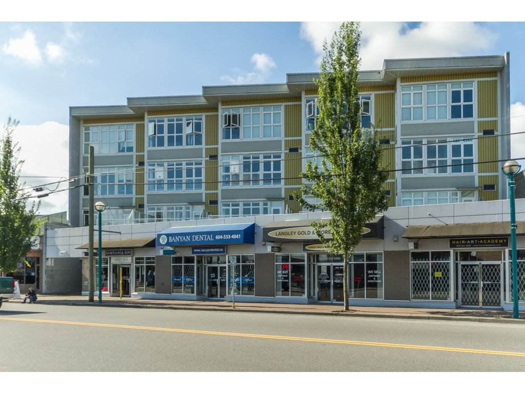 "Main Photo: 309 20238 FRASER Highway in Langley: Langley City Condo for sale in ""The Muse"" : MLS®# R2100070"