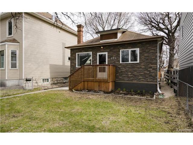 Main Photo: 866 Fleet Avenue in Winnipeg: Residential for sale (1B)  : MLS®# 1709869