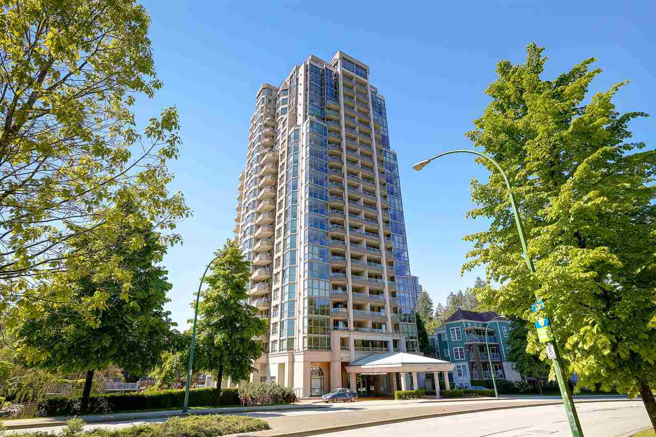 "Main Photo: 2203 3070 GUILDFORD Way in Coquitlam: North Coquitlam Condo for sale in ""LAKESIDE TERRACE THE TOWER"" : MLS®# R2170193"