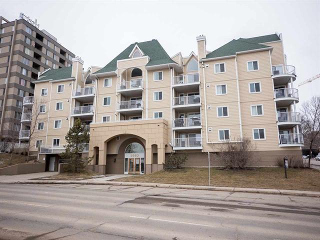 Main Photo: 202 9640 105 Street NW in Edmonton: Zone 12 Condo for sale : MLS®# E4055501