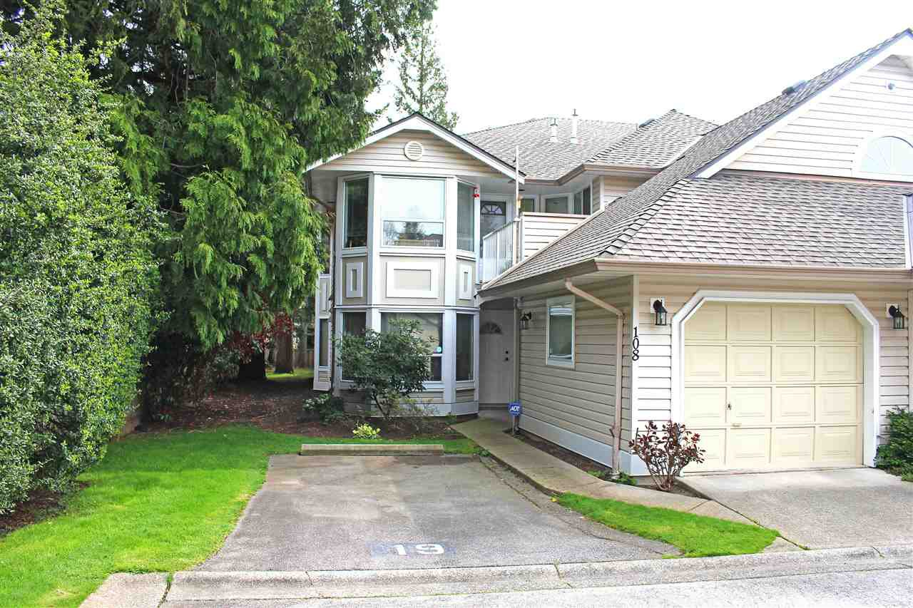 "Main Photo: 108 16031 82 Avenue in Surrey: Fleetwood Tynehead Townhouse for sale in ""SPRINGFIELD"" : MLS®# R2258733"
