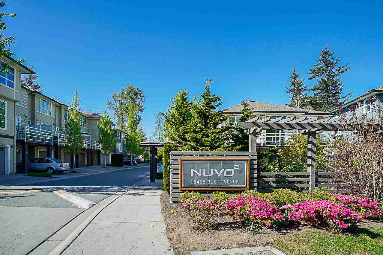 """Main Photo: 72 15405 31 Avenue in Surrey: Grandview Surrey Townhouse for sale in """"Nuvo2"""" (South Surrey White Rock)  : MLS®# R2265122"""