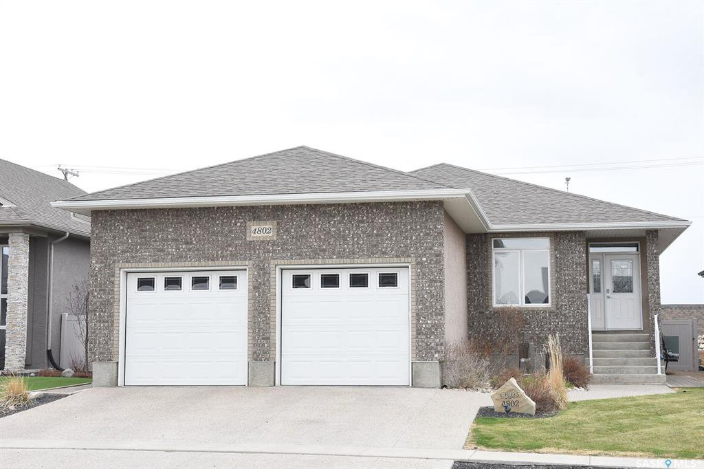 Main Photo: 4802 Sandpiper Crescent East in Regina: The Creeks Residential for sale : MLS®# SK771375