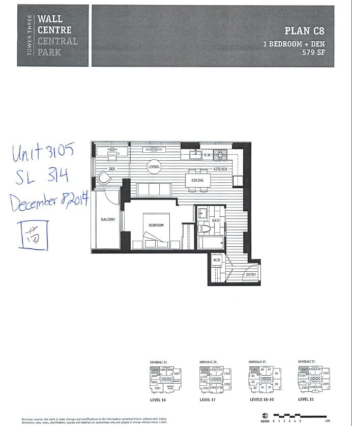 """Main Photo: 3105 5470 ORMIDALE Street in Vancouver: Collingwood VE Condo for sale in """"Wall Centre II"""" (Vancouver East)  : MLS®# R2375197"""