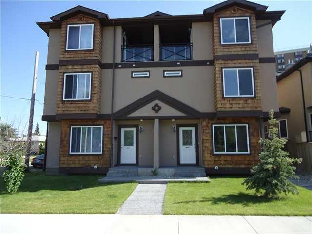 Main Photo: 1 819 McDOUGALL Road NE in CALGARY: Bridgeland Townhouse for sale (Calgary)  : MLS®# C3499703