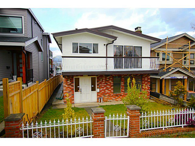 Main Photo: 4211 ETON Street in Burnaby: Vancouver Heights House for sale (Burnaby North)  : MLS®# V1047500