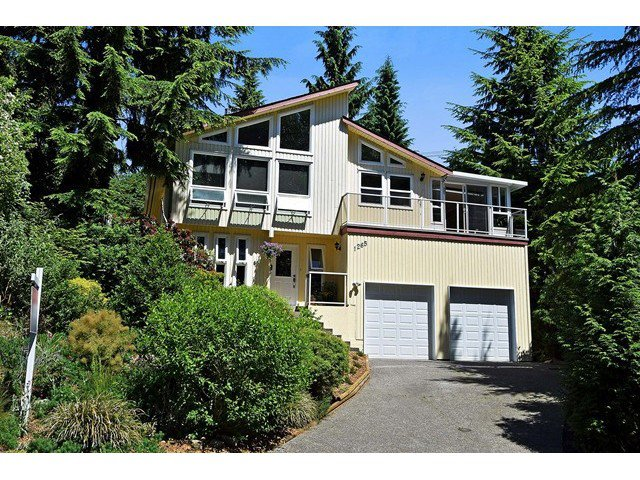 Main Photo: 1265 LANSDOWNE Drive in Coquitlam: Upper Eagle Ridge House for sale : MLS®# V1127701