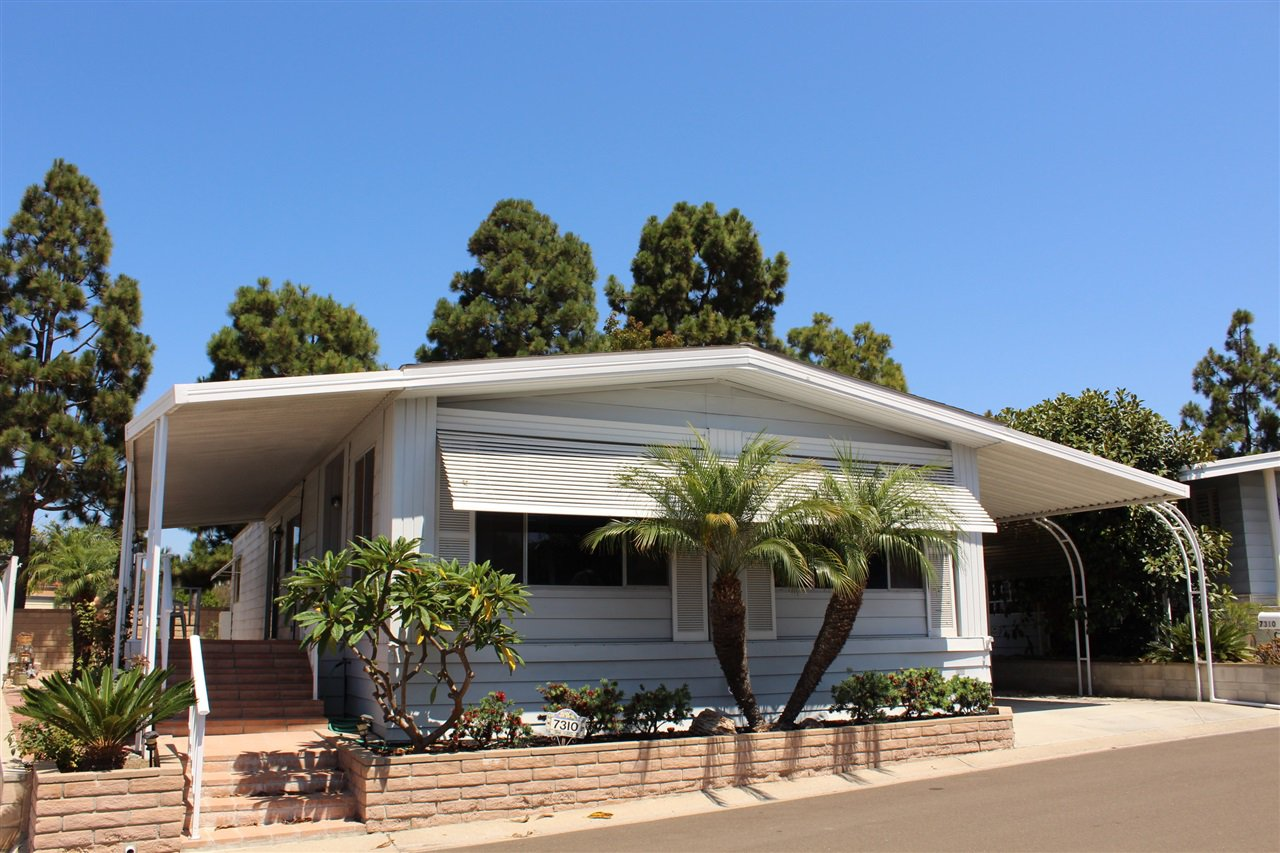 Main Photo: CARLSBAD SOUTH Manufactured Home for sale : 2 bedrooms : 7310 San Bartolo #212 in Carlsbad