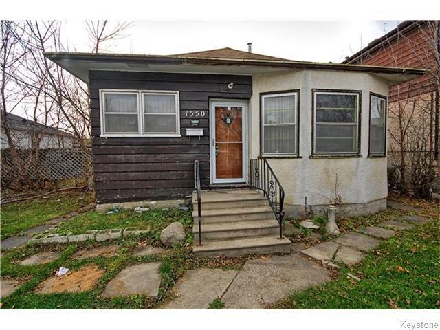 Main Photo: 1550 Ross Avenue West in WINNIPEG: Brooklands / Weston Residential for sale (West Winnipeg)  : MLS®# 1529899