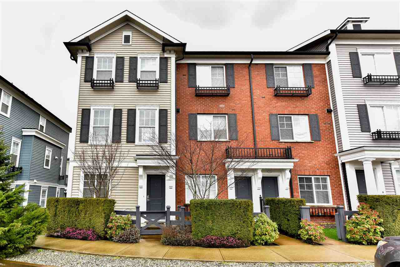 "Main Photo: 36 7238 189 Street in Surrey: Clayton Townhouse for sale in ""Tate"" (Cloverdale)  : MLS®# R2046422"