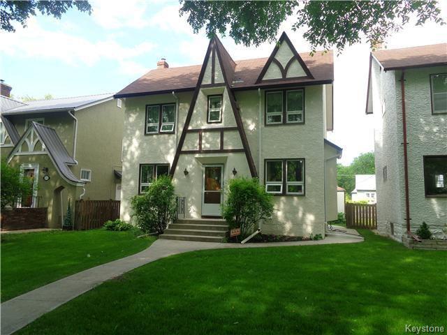 Main Photo: 295 Queenston Street in Winnipeg: River Heights / Tuxedo / Linden Woods Residential for sale (South Winnipeg)  : MLS®# 1615992