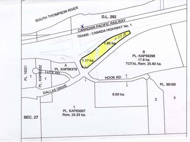 Photo 11: Photos: LOT A E DALLAS DRIVE in : Dallas Land Only for sale (Kamloops)  : MLS®# 138550