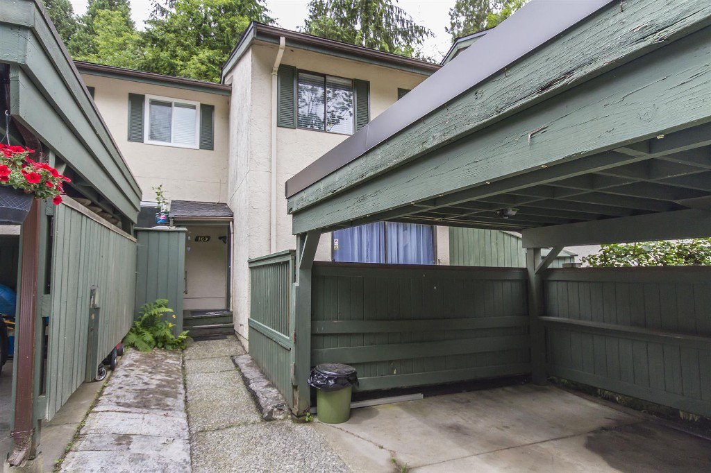 "Main Photo: 169 JAMES Road in Port Moody: Port Moody Centre Townhouse for sale in ""TALL TREES ESTATES"" : MLS®# R2185076"