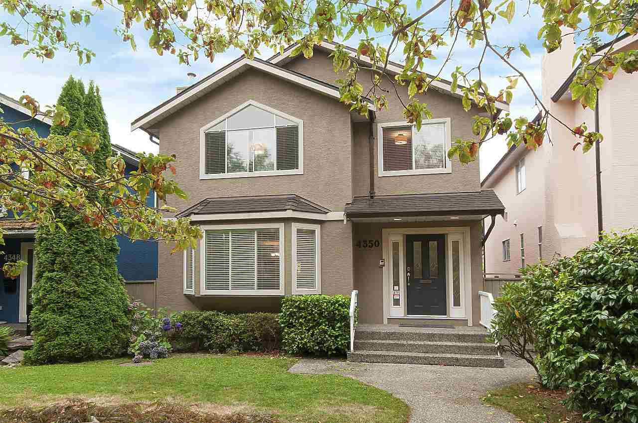 Photo 1: Photos: 4350 W 14TH Avenue in Vancouver: Point Grey House for sale (Vancouver West)  : MLS®# R2202991