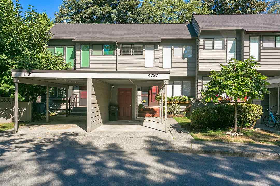 Main Photo: 4737 CEDARGLEN PLACE in Burnaby: Greentree Village Townhouse for sale (Burnaby South)  : MLS®# R2207478