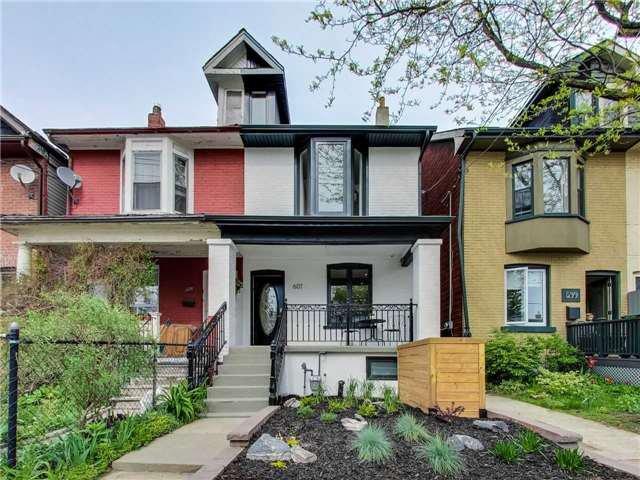 Main Photo: 601B Pape Avenue in Toronto: South Riverdale House (2 1/2 Storey) for lease (Toronto E01)  : MLS®# E4139077