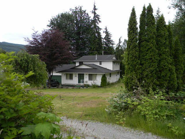 Main Photo: 30886 DEWDNEY TRUNK ROAD in : Stave Falls House for sale : MLS®# F1427224