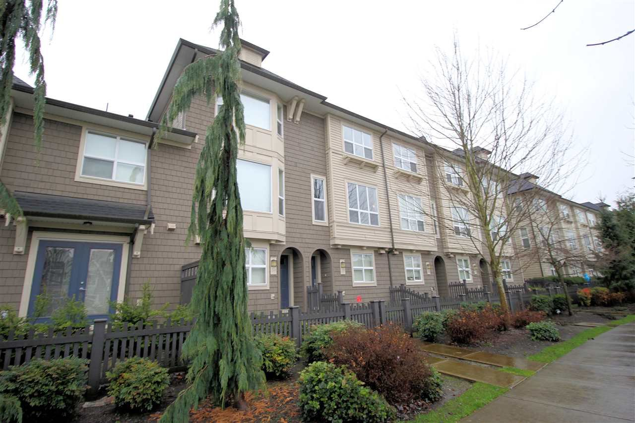 "Main Photo: 37 7938 209 Street in Langley: Willoughby Heights Townhouse for sale in ""Red Maple Park"" : MLS®# R2338370"