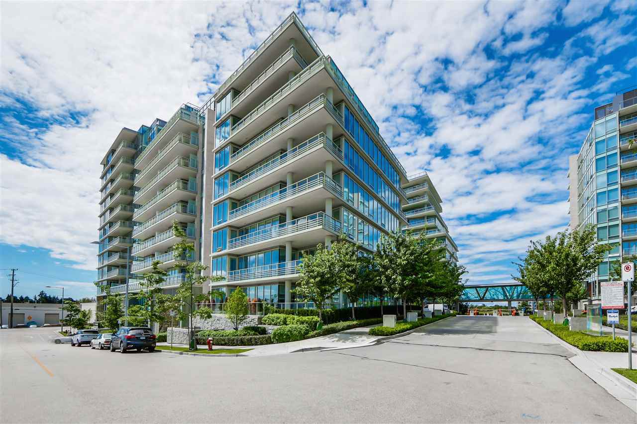 "Main Photo: 801 5199 BRIGHOUSE Way in Richmond: Brighouse Condo for sale in ""RIVER GREEN I"" : MLS®# R2421329"
