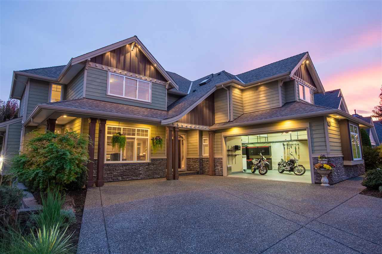 """Main Photo: 16368 58A Avenue in Surrey: Cloverdale BC House for sale in """"Highlands"""" (Cloverdale)  : MLS®# R2424070"""