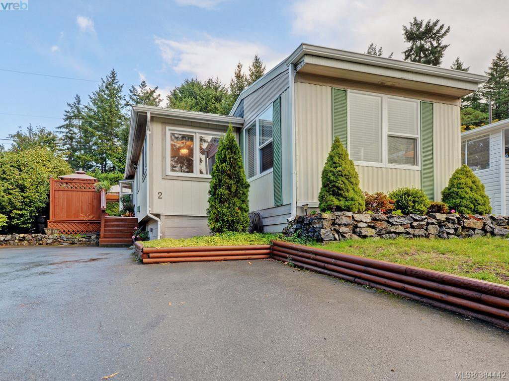 Main Photo: 2 2587 Selwyn Road in VICTORIA: La Mill Hill Manu Single-Wide for sale (Langford)  : MLS®# 384442