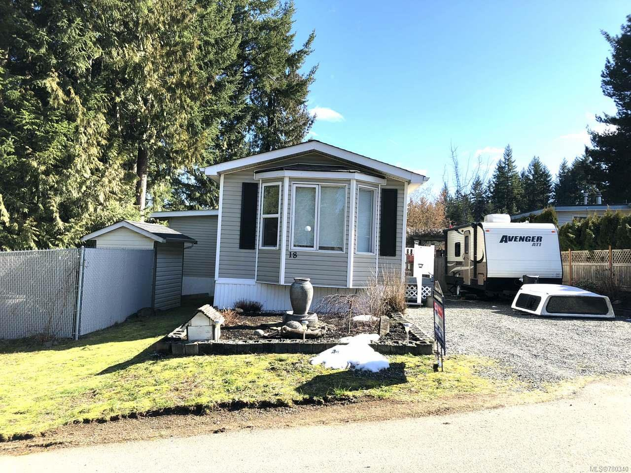 Main Photo: 18 3100 RINVOLD ROAD in QUALICUM BEACH: PQ Errington/Coombs/Hilliers Manufactured Home for sale (Parksville/Qualicum)  : MLS®# 780340