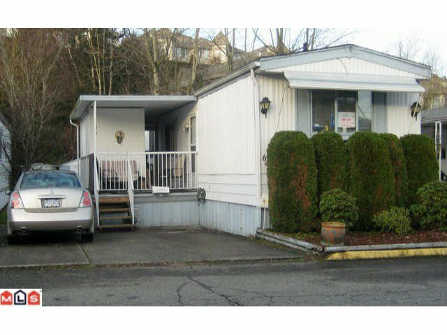 Main Photo: 64 3300 HORN STREET in : Central Abbotsford Manufactured Home for sale (Abbotsford)  : MLS®# F1102190