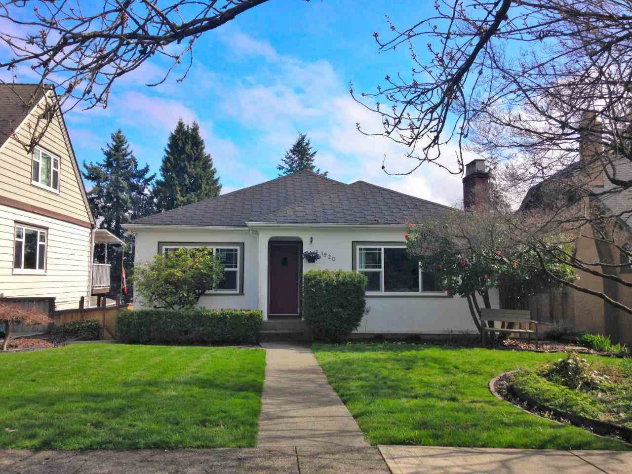 Main Photo: 1920 DUBLIN Street in New Westminster: West End NW House for sale : MLS®# R2254922