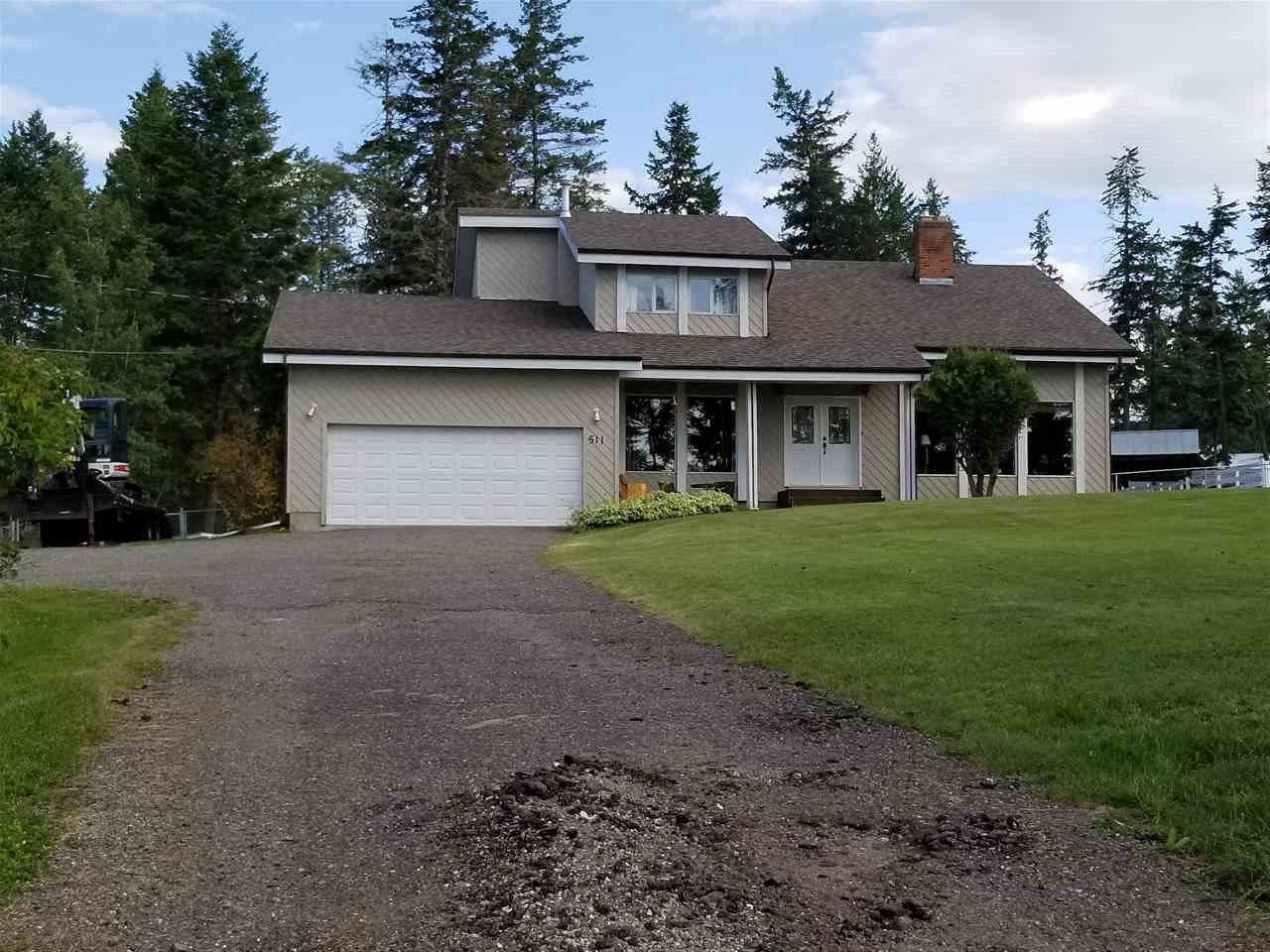 Main Photo: 511 TAMARACK Road in Williams Lake: Esler/Dog Creek House for sale (Williams Lake (Zone 27))  : MLS®# R2487403