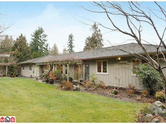 """Main Photo: 17385 HILLVIEW Place in Surrey: Grandview Surrey House for sale in """"COUNTRY WOODS"""" (South Surrey White Rock)  : MLS®# F1104130"""