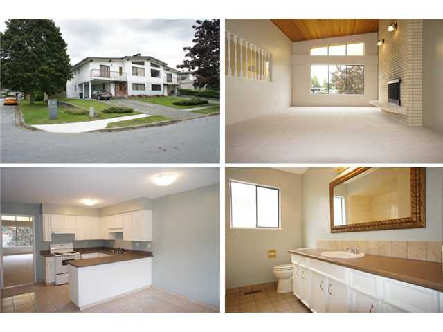 Main Photo: 7215 7217 HEWITT Street in Burnaby: Simon Fraser Univer. House Duplex for sale (Burnaby North)  : MLS®# V914804