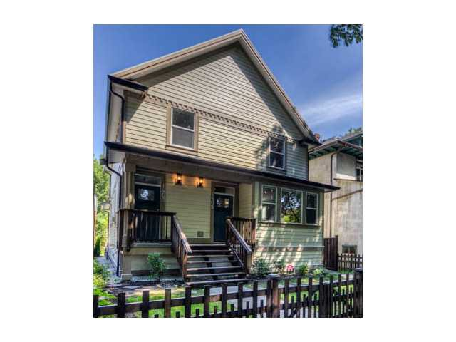 Main Photo: 1405 E 10TH Avenue in Vancouver: Grandview VE House 1/2 Duplex for sale (Vancouver East)  : MLS®# V1036930