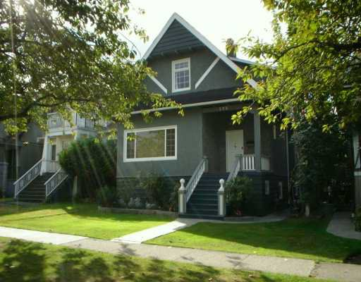 Main Photo: 596 W 22ND Ave in Vancouver: Cambie House for sale (Vancouver West)  : MLS®# V612069