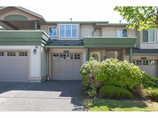 "Main Photo: 167 13888 70 Avenue in Surrey: East Newton Townhouse for sale in ""Chelsea Gardens"" : MLS®# R2000018"