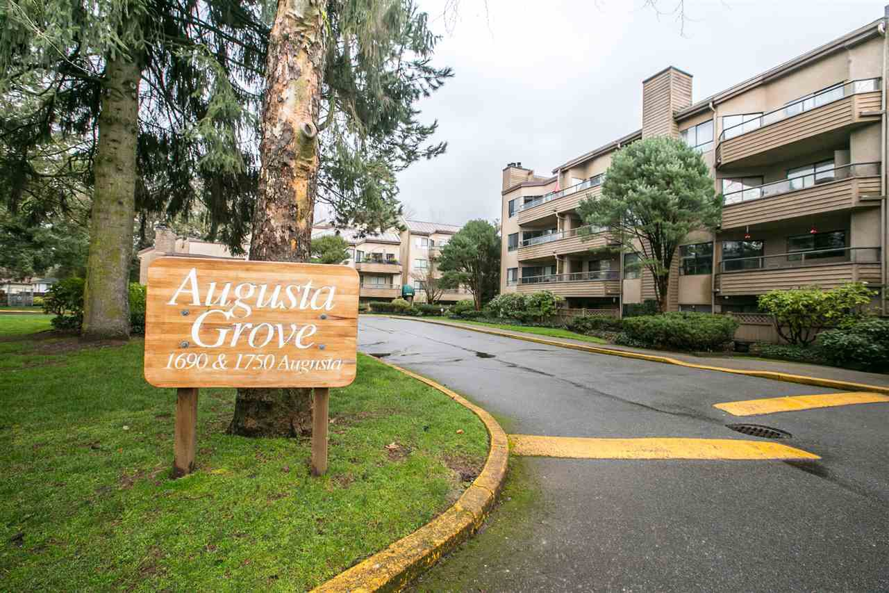"Main Photo: 103 1690 AUGUSTA Avenue in Burnaby: Simon Fraser Univer. Condo for sale in ""Augusta Grove"" (Burnaby North)  : MLS®# R2036867"