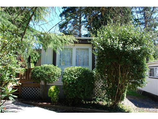 Main Photo: 1 1201 Craigflower Rd in VICTORIA: VR Glentana Manufactured Home for sale (View Royal)  : MLS®# 738635