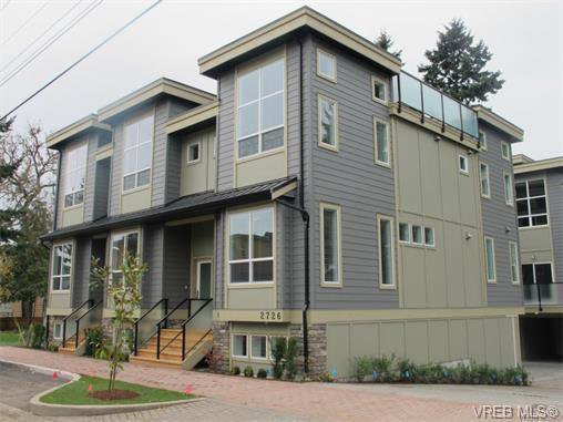 Main Photo: 112 2726 Peatt Rd in VICTORIA: La Langford Proper Row/Townhouse for sale (Langford)  : MLS®# 748828
