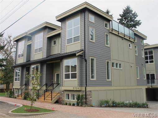 Main Photo: 112 2726 Peatt Road in VICTORIA: La Langford Proper Townhouse for sale (Langford)  : MLS®# 373202