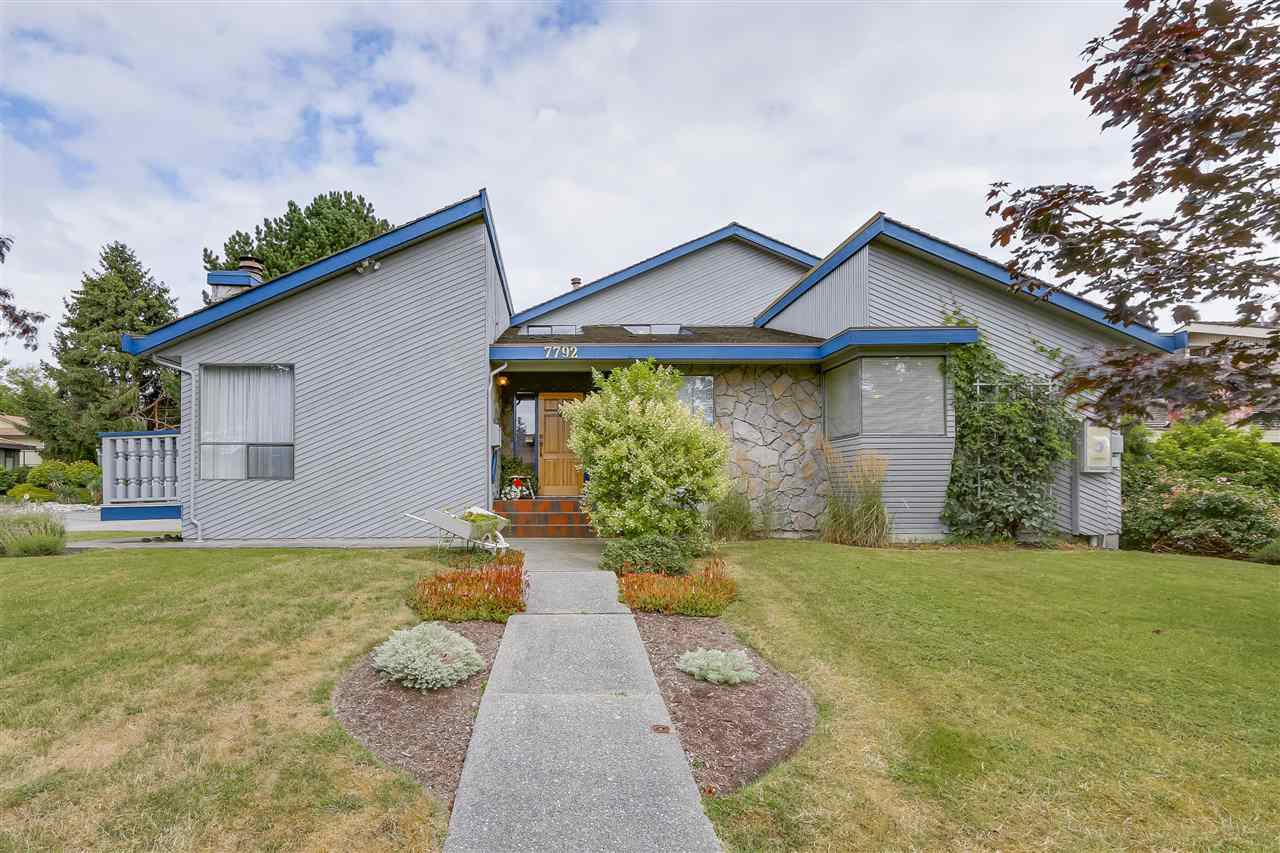 Main Photo: 7792 STAMFORD Place in Delta: Nordel House for sale (N. Delta)  : MLS®# R2199256