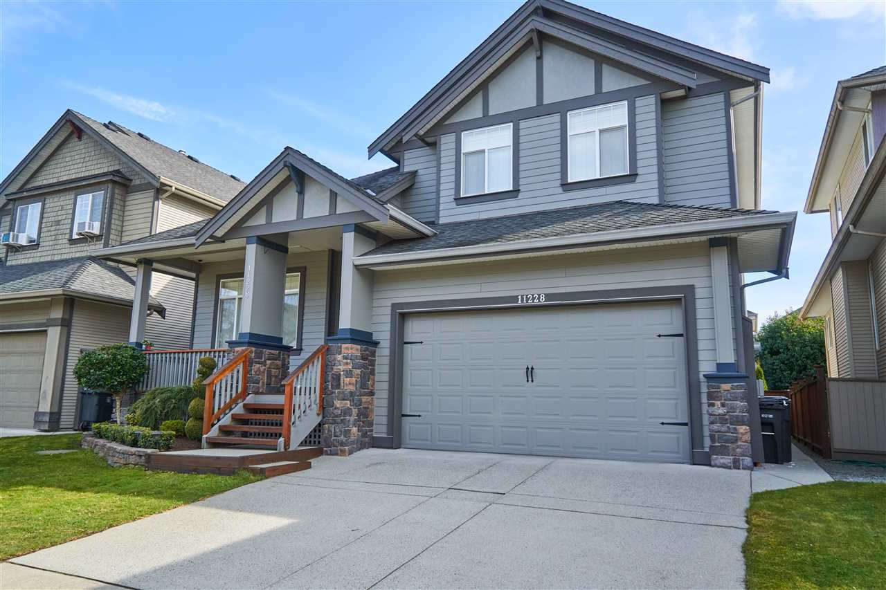 "Main Photo: 11228 TULLY Crescent in Pitt Meadows: South Meadows House for sale in ""Bonson's Landing"" : MLS®# R2246447"