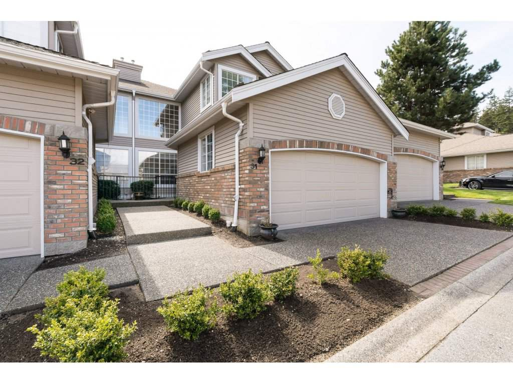 """Photo 1: Photos: 31 2688 150 Street in Surrey: Sunnyside Park Surrey Townhouse for sale in """"Westmoor"""" (South Surrey White Rock)  : MLS®# R2256437"""