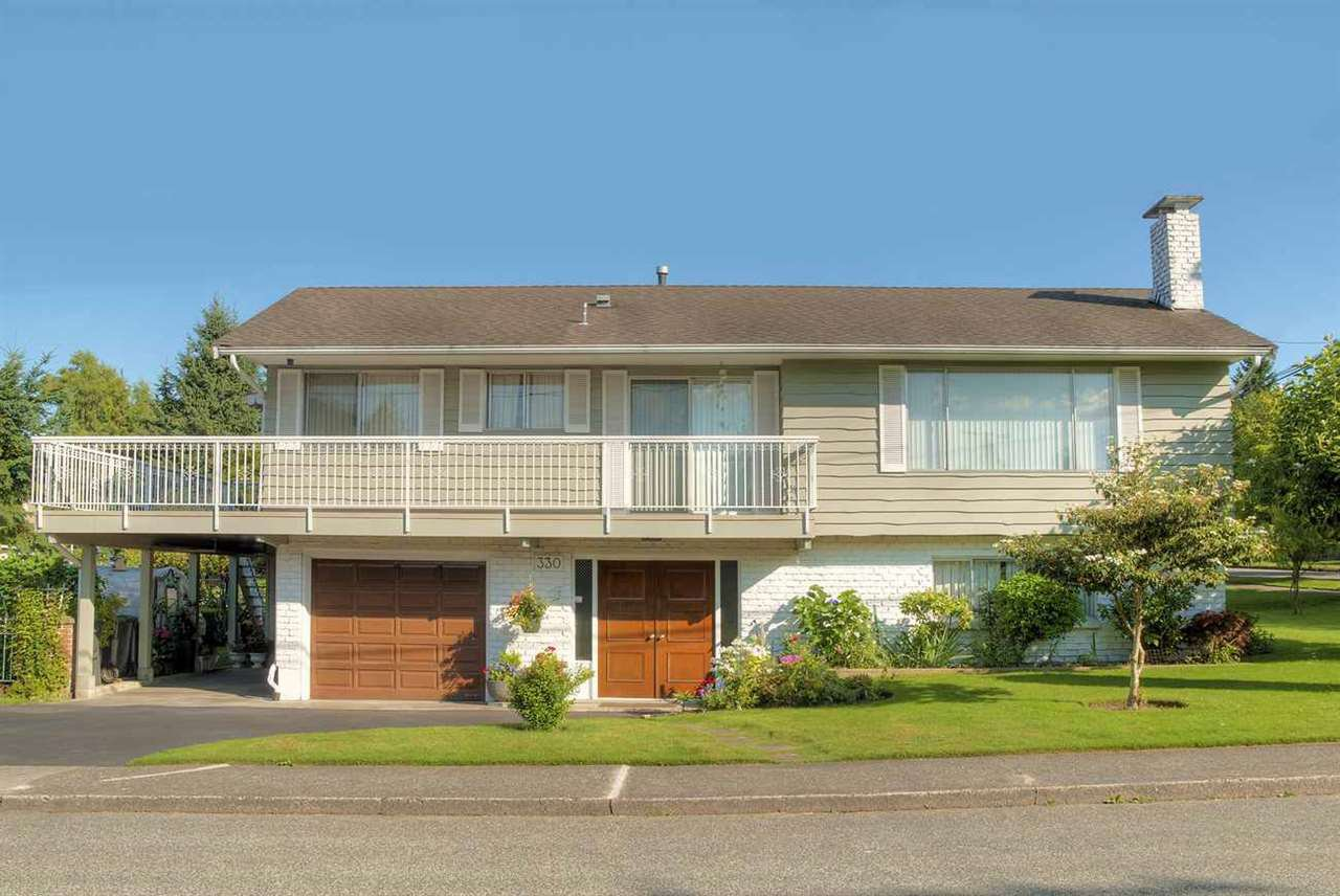 "Main Photo: 330 NINTH Avenue in New Westminster: GlenBrooke North House for sale in ""Glenbrooke North"" : MLS®# R2284273"